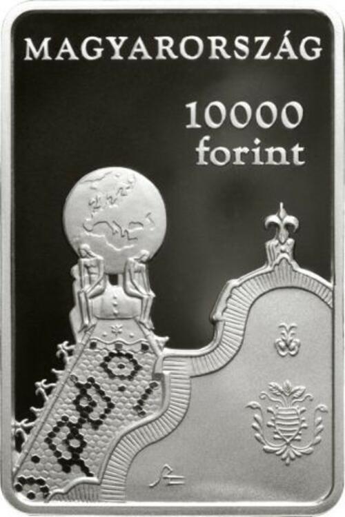 Lieferumfang:Ungarn : 10000 Forint 150 J. Geologisches Institut  rechteckig  2019 PP