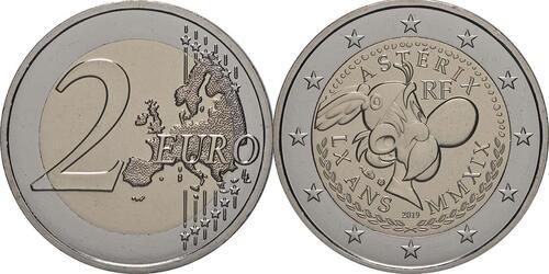Lieferumfang:Frankreich : 2 Euro Asterix  2019 bfr