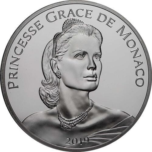 Vorderseite:Monaco : 10 Euro Grace Kelly  2019 PP