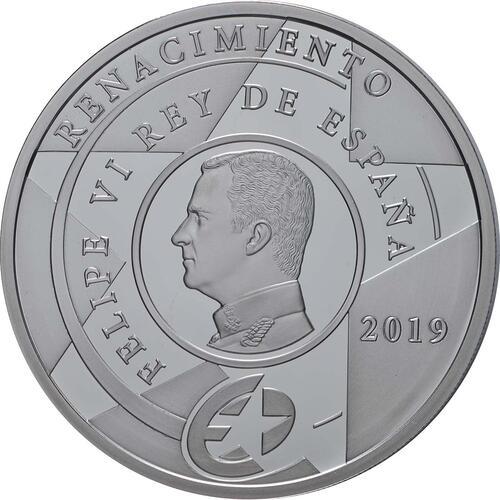 Rückseite:Spanien : 10 Euro Renaissance  2019 PP
