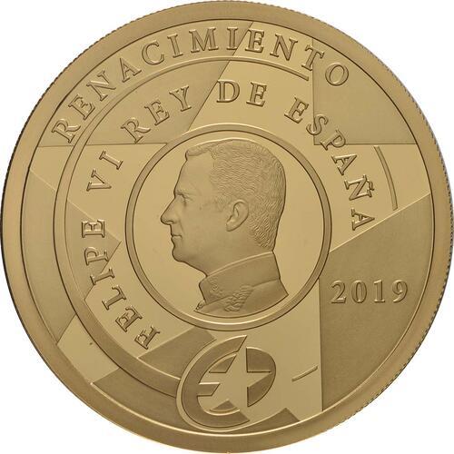 Rückseite:Spanien : 200 Euro Rennaissance  2019 PP