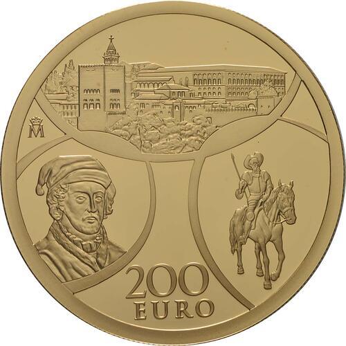 Vorderseite:Spanien : 200 Euro Renaissance  2019 PP