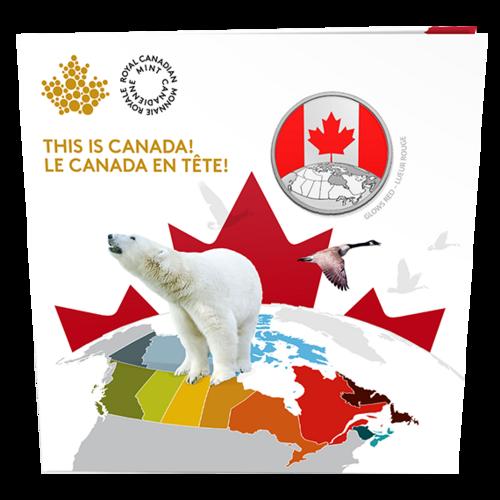 Lieferumfang:Kanada : 5 Dollar Das ist Canada  2019 Stgl.