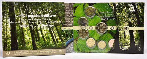 Lieferumfang:Slowakei : 3,88 Euro KMS UNESCO-Buchenwälder i. d. Karpaten  2019 Stgl.
