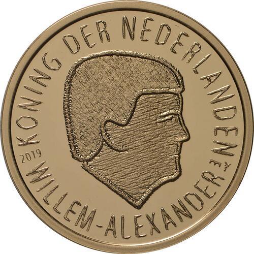Vorderseite:Niederlande : 10 Euro 75 Jahre Market Garden  2019 PP