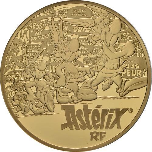 Vorderseite:Frankreich : 100 Euro Asterix  2019 PP