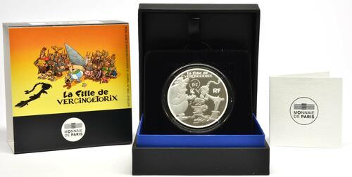 Lieferumfang:Frankreich : 10 Euro Asterix - neues Album  2019 PP