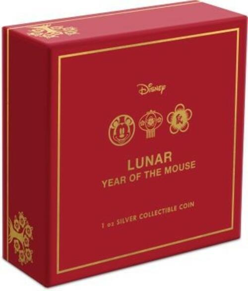 Zertifikat:Niue : 2 Dollar Disney - Jahr der Maus   1 oz  2020 PP