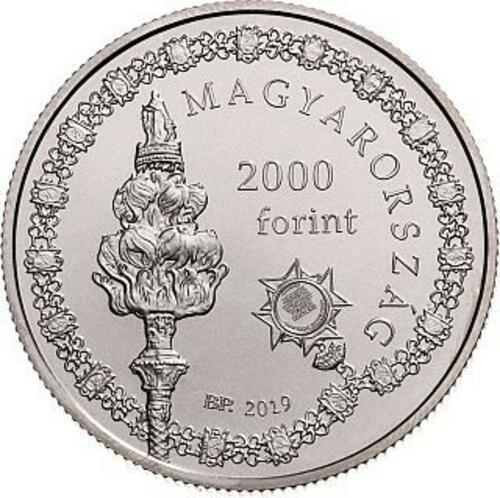 Vorderseite:Ungarn : 2000 Forint 150 J. Semmelweis Universität Budapest  2019 Stgl.