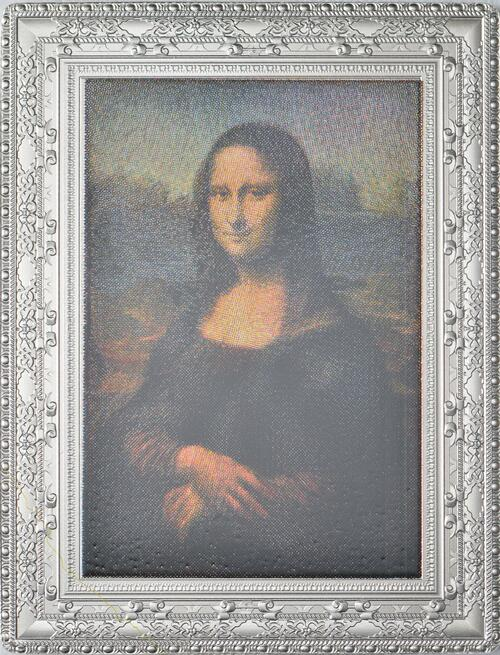 Vorderseite:Frankreich : 10 Euro Mona Lisa - farbig  2019 PP
