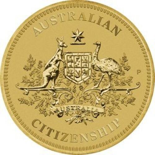 Vorderseite:Australien : 1 Dollar Australische Staatsbürgerschaft  2020 Stgl.