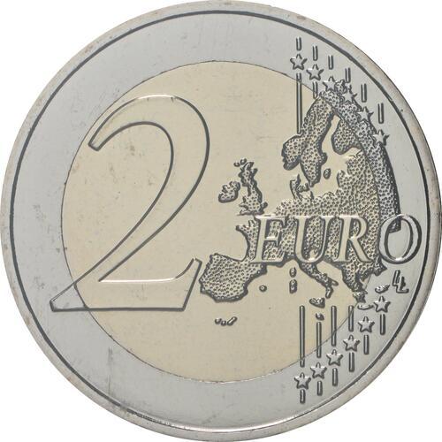 Vorderseite:Andorra : 2 Euro 600 Jahre Weltkonzil  2019 bfr