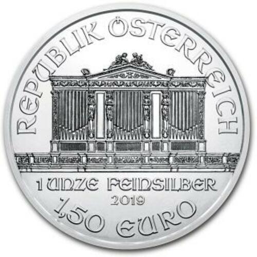 Rückseite:Österreich : 1,5 Euro Philharmoniker Weihnachtsblister  2019 Stgl.