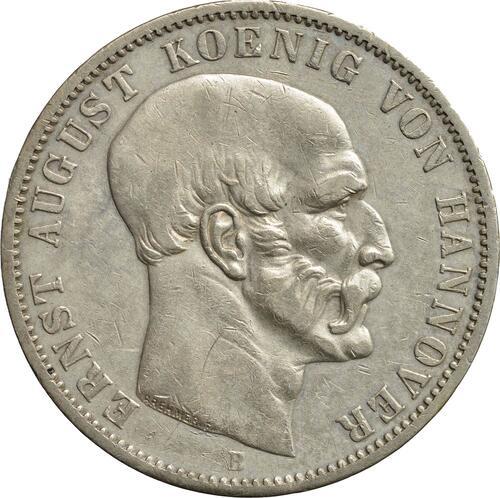 Vorderseite:Deutschland : 1 Taler  winz. Rs. 1848 ss/vz.