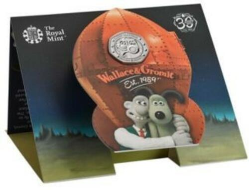 Lieferumfang:Großbritannien : 50 Pc Wallace and Gromit - Blister  2019 Stgl.