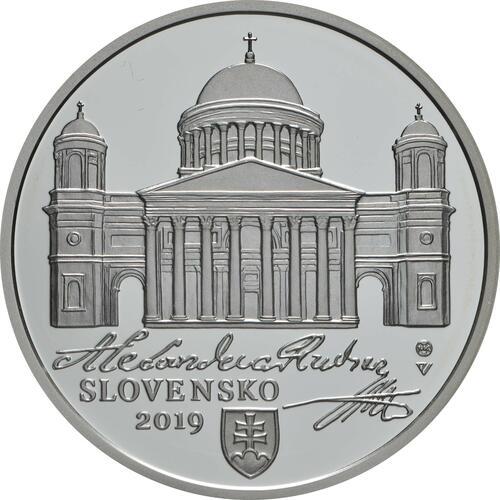 Vorderseite:Slowakei : 10 Euro A. Rudnay/100 J. Ernennung zum Erzbischof  2019 PP
