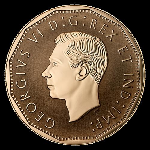 Rückseite:Kanada : 5 Cent Kanadische Heimatfront - Der Victory Nickel  2020 Stgl.