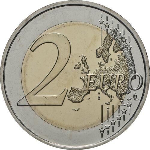 Vorderseite:Finnland : 2 Euro 100 Jahre Finnische Verfassung von 1919  2019 bfr