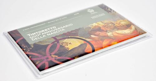 Vorderseite:San Marino :   Schutzhülle für 2 Euro San Marino Blister - leer ohne Münzen (Blister dient nur zur Anschauung)  2019 bfr