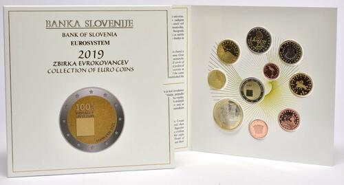 Lieferumfang:Slowenien : 8,88 Euro KMS Slowenien  2019 PP