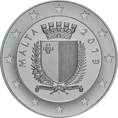 Rückseite:Malta : 10 Euro 250 Jahre Universität Malta  2019 PP