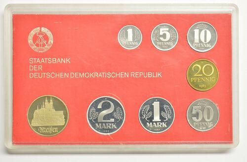 Lieferumfang:DDR : 8,86 Mark Meißen 1983!   -sehr selten !- 1983 PP
