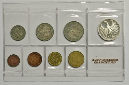 Rückseite:Deutschland : 8,68 Mark Original verschweißt -sehr selten !- 1967 PP