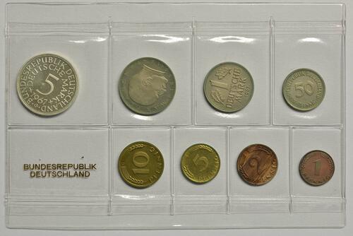 Lieferumfang:Deutschland : 8,68 Mark Original verschweißt -sehr selten !- 1967 PP