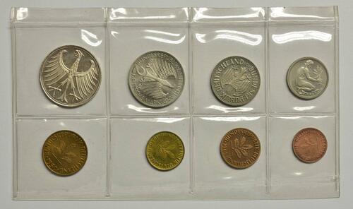 Rückseite:Deutschland : 8,68 Mark Original verschweißt -selten- 1965 PP