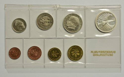 Rückseite:Deutschland : 8,68 Mark Original verschweißt  1970 PP