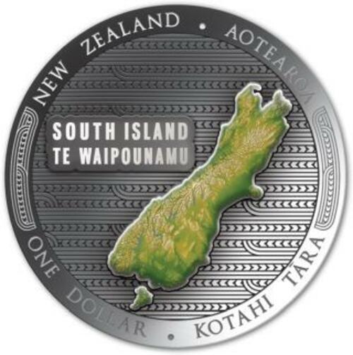 Rückseite:Neuseeland : 2x1 Dollar Te Riu-a-Maui - Set 2x 1 oz  2020 PP