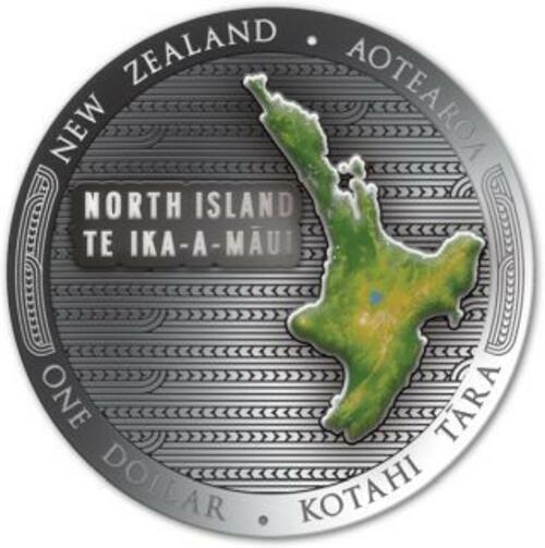 Vorderseite:Neuseeland : 2x1 Dollar Te Riu-a-Maui - Set 2x 1 oz  2020 PP
