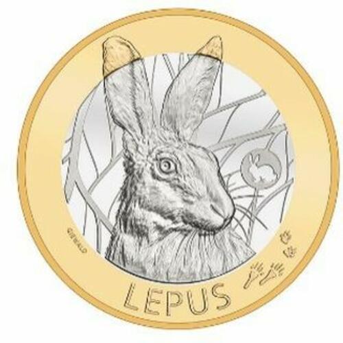 """Lieferumfang:Schweiz : 10 sfr Hase - Serie """"Schweizer Waldtiere"""" #2 von 3  2020 Stgl."""