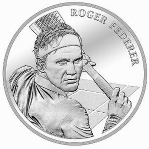 Lieferumfang:Schweiz : 20 sfr Roger Federer  2020 Stgl.