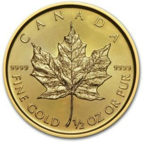 Lieferumfang:Kanada : 20 Dollar Maple Leaf   1/2 oz  2020 Stgl.