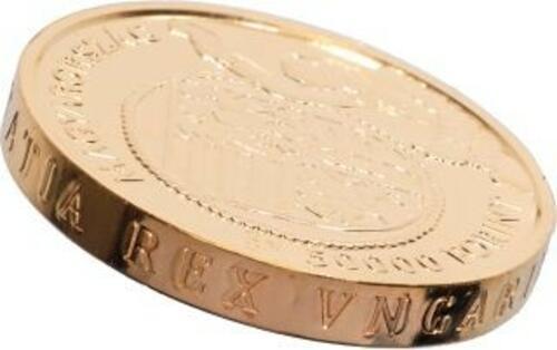 Rückseite:Ungarn : 5000 Forint Goldflorin von Vladislaus I.  2020 Stgl.