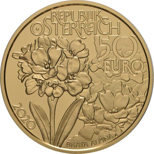 Rückseite:Österreich : 50 Euro Hohe Tauern 1 von 3  2020 PP