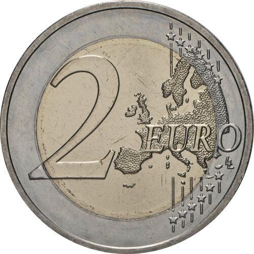 Vorderseite:Deutschland : 2 Euro Brandenburg - Schloss Sanssouci  2020 bfr