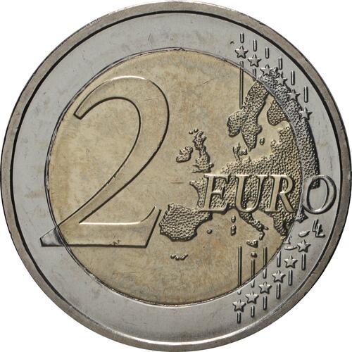Vorderseite:Deutschland : 2 Euro 50 Jahre Kniefall von Warschau Buchstabe unserer Wahl  2020 bfr