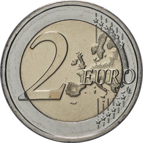 Vorderseite:Luxemburg : 2 Euro 200. Geburtstag von Prinz Heinrich von Oranien-Nassau  2020 bfr