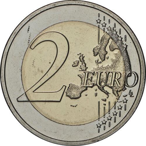 Vorderseite:Luxemburg : 2 Euro Prinz Charles / Reliefprägung  2020 bfr