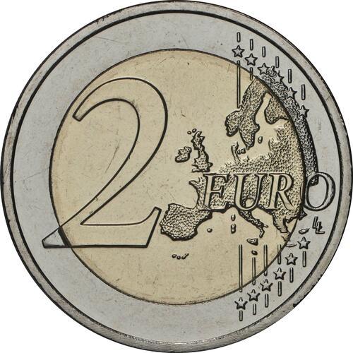 Vorderseite:Luxemburg : 2 Euro Prinz Charles / Hologramm  2020 bfr