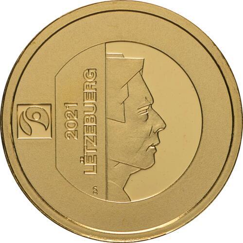 Rückseite:Luxemburg : 10 Euro Melusina  2021 PP