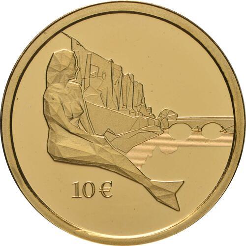 Vorderseite:Luxemburg : 10 Euro Melusina  2021 PP