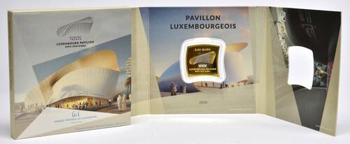 Lieferumfang:Luxemburg : 2,5 Euro Weltausstellung Dubai  2020 PP