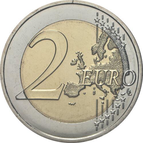 Vorderseite:Malta : 2 Euro Tempel von Skorba  2020 Stgl.