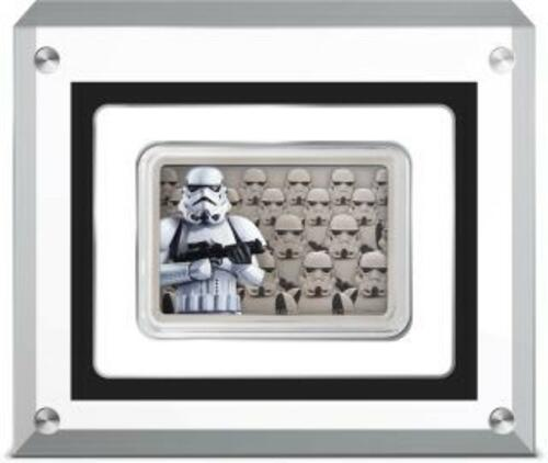 Lieferumfang:Niue : 2 Dollar Stormtrooper-Star Wars/Guards of the Empire  2020 Stgl.
