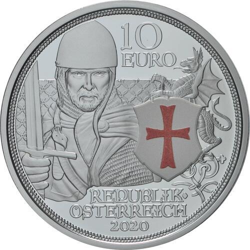 Rückseite:Österreich : 10 Euro Tapferkeit  2020 PP