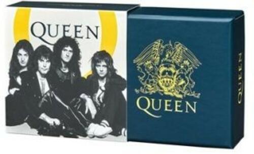 Zertifikat:Großbritannien : 1 Pfund Queen - Musiklegenden 1/2 oz  2020 PP