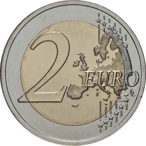 Vorderseite:Estland : 2 Euro 200. Jahrestag der Entdeckung der Antarktis  2020 bfr
